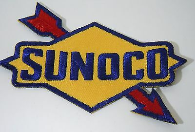 SUNOCO OIL & GAS Embroidered Iron On Uniform-Jacket Patch 3.5""