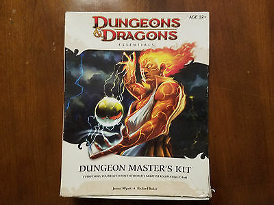 Dungeons & Dragons D&D Essentials 4th Edition 4E Dungeon Master's Kit WOTC D20