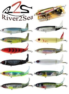 River2Sea Whopper Plopper 130 130S Silent Larry Dahlberg Bass Musky Select Color