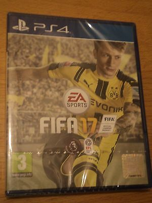 Fifa 17 (Ps4) Brand New And Factory Sealed