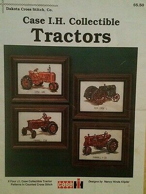 Case I.H. Collectible Tractors Cross Stitch Pattern Booklet