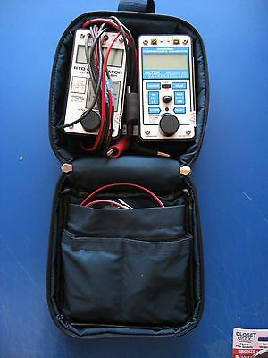 Altek 422 Thermocouple And 211 Rtd Calibrator Kit With Case And Test Leads
