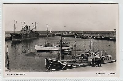 WICK HARBOUR: Caithness postcard (C6177).