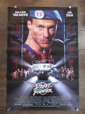 Streetfighter, Original DS Movie Poster Jean-Claude Van Damme Kylie Minogue, 94