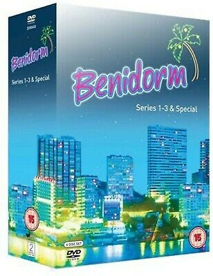 Benidorm Complete Series 1 2 3 and Specials DVD Johnny Vegas New Sealed UK R2