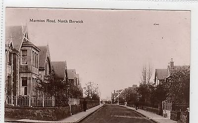 MARMION ROAD, NORTH BERWICK: East Lothian postcard (C4861).