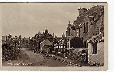 THE WYND, ABERLADY: East Lothian postcard (C4947).