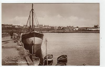 HARBOUR, ISLE OF WHITHORN: Wigtownshire postcard (C6312).