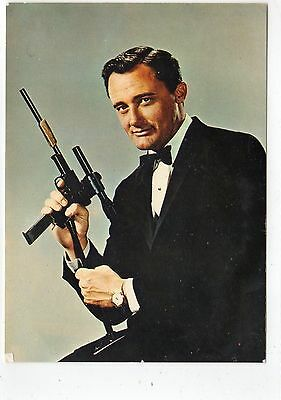 NAPOLEON SOLO: Man From Uncle postcard (C5943).