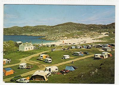 ACHMELVICH BAY AND CARAVAN SITE: Sutherland postcard (C5198).