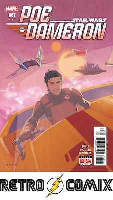 Marvel Star Wars Poe Dameron #7 First Print New/unread Bagged & Boarded
