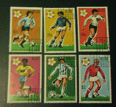Belize Stamps 1982 Football World Championship Spain MNH