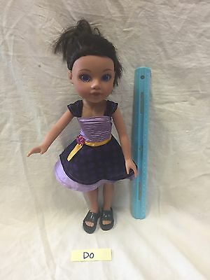 Hearts 4 Hearts Doll Playmates Toy Purple Eyes Eyes 2010