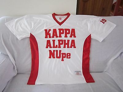 Fraternity Football Throwbacks Jersey Size Large# 1