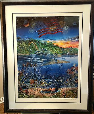 BEACH BOYS 30TH ANNIVERSARY- Ring of Life-(34 x 42) signed by artist #74  of 400