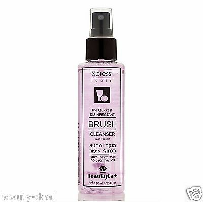 Makeup brushes Cleanser liquid Cleaner Disinfectant Spray 120ml 4.23oz