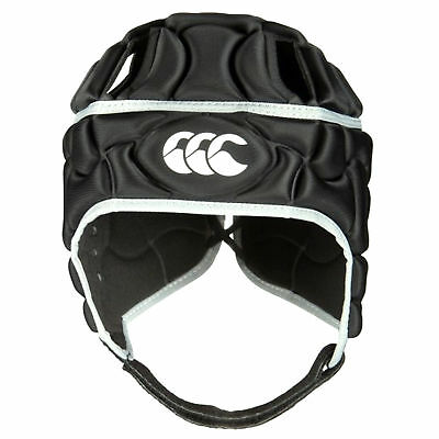 Canterbury Club Plus Junior Rugby Headguard Scrumcap Black