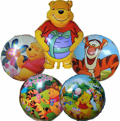 Winnie The Pooh Friends Piglet Tigger Balloon Birthday Party Supplies Decor Gift