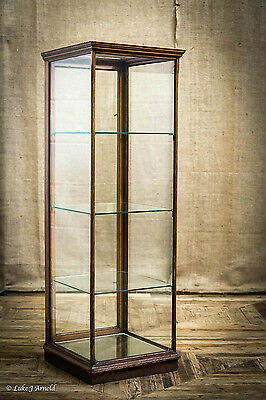 Edwardian Glazed Shop Display Cabinet