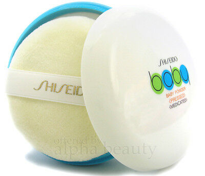 Shiseido Japan Medicated Baby Body Powder (pressed) 50g with Soft Puff