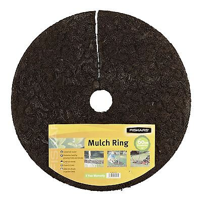 Fiskars TREE MULCH RING Conserve Water, Protect Trees & Control Weeds–60 Or 76cm