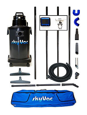SkyVac Atom Gutter Cleaning Machine 6 metres / 20 feet Reach + Recordable Camera