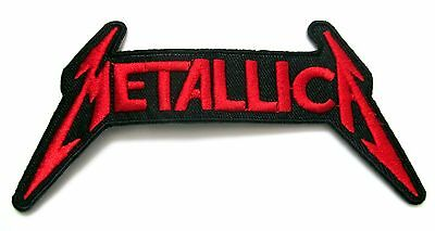 Metallica Iron On Patch- Music Rock Punk Metal Bands Embroidered Badge Craft Sew