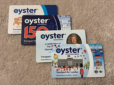 Oyster Card London UK - Limited Edition - Collectible Only