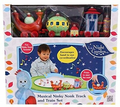 In the Night Garden Musical Ninky Nonk Train and Track Set KIDS FUN TOY NEW