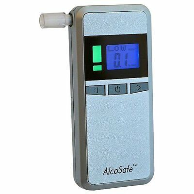 Breath Alcohol Tester Breathalyser Professional Accurate Drive Safe Limit Alert
