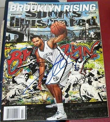 Deron Williams Brooklyn Nets SIGNED Sports Illustrated SI COA Autographed NOL