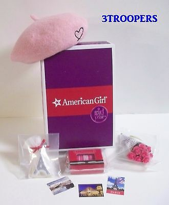 American Girl Doll Grace Thomas Beret Welcome Gifts Set New In Box