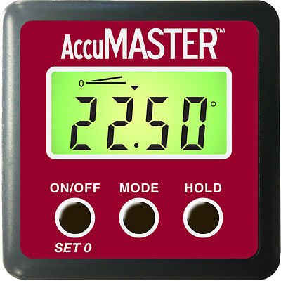 Calculated Industries # 7434  AccuMASTER 2-in-1 Digital Angle Gauge and Level