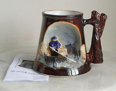 Great Yarmouth Mug The Norfolk Reed Cutter 26 Of Only 200 With Cert