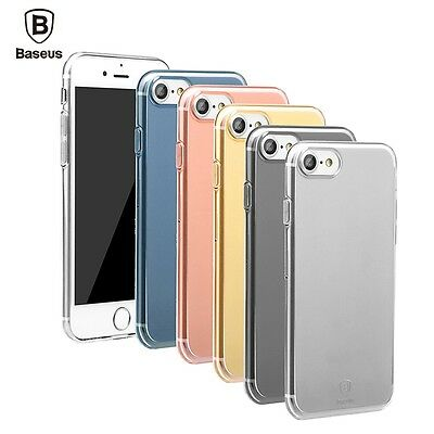 Baseus Transparent Clear Soft Gel Silicone Case for iPhone 8 7 6S 6 Plus Cover