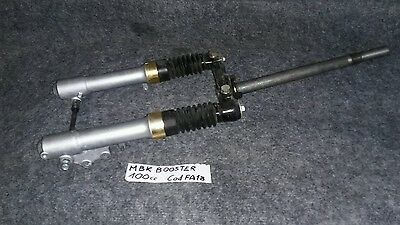 forcella forcelle mbk Booster 100cc fork shock absorbers front perno ruota
