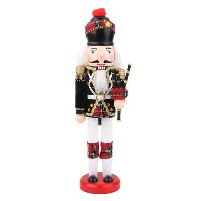 Casse-Noisette en Bois écossais Figurine Soldat Collection Enfant Nußknacker