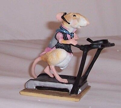 Border Fine Arts  Rats The Way To Do It. 'rat Race' A7908 New And Boxed