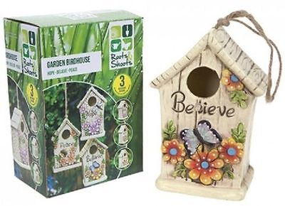 Birdhouse Summer Bird House Nest Nesting Attractive Decorative Garden Ornament