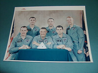 Nasa Apollo 1 First Mission Vintage Photo Red Serial #s-66-30238 Grissom,chaffee