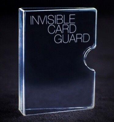 Invisible Card Guard By Magic Makers For Bicycle Size Poker Size Decks Tricks
