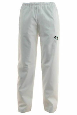 Unisex Lawn bowling waterproof trousers white trousers bowls S/M/L/XL/2XL
