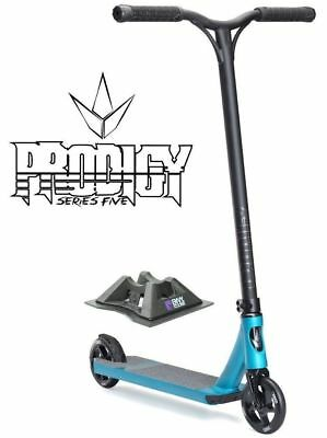 Envy Prodigy S5 2017 Complete Scooter - Blue - Bonus Stand + Sticker Pack