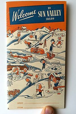 1948 Welcome to Sun Valley Idaho Brochure