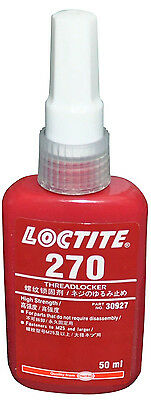Loctite 270 High Strength - Threadlock - All Metal Adhesive -  Glue 50 Ml