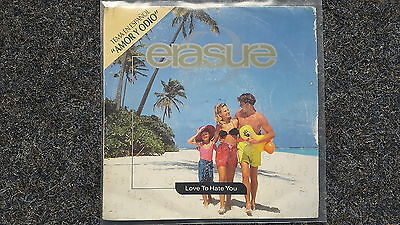 Erasure - Amor y odio [Love to hate you] 7'' Single SUNG IN SPANISH