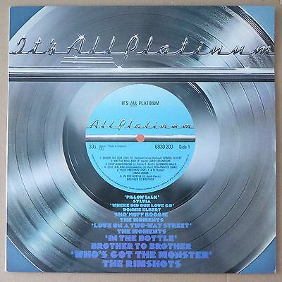 Various - It's All Platinum - R&B, Soul - VG++ to Near Mint