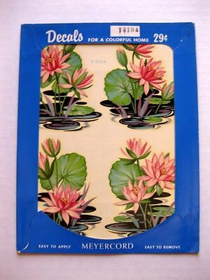 Vintage Meyercord Lily Pad Decal  In Original Packaging  X310-A