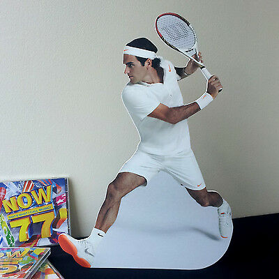 Roger Federer Display Desktop Stand Standee NEW Tennis Player Wimbledon Swiss