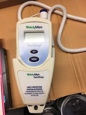 Welch Allyn SureTemp 678 Thermometer With Wall Holder